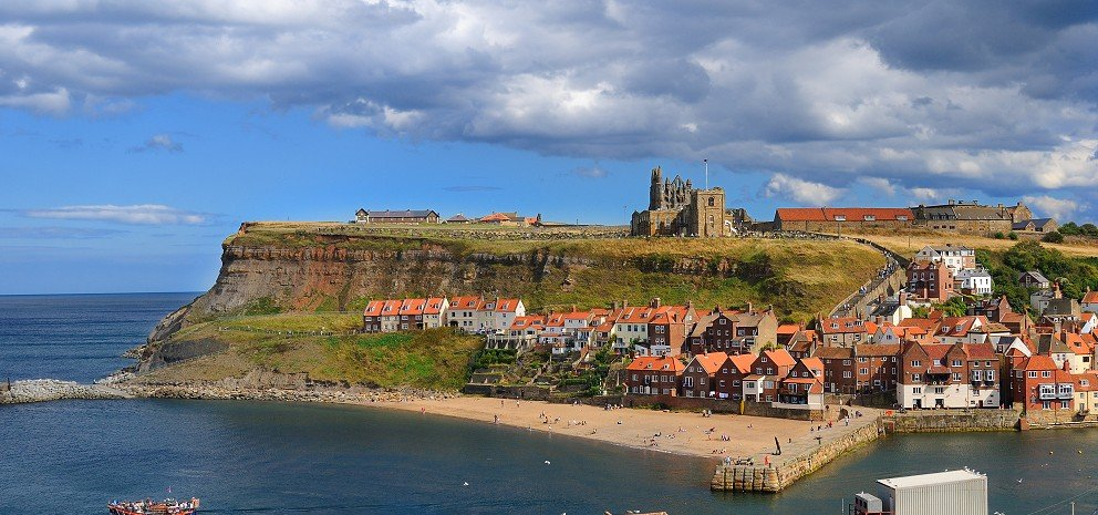 Whitby East Cliff and Abbey